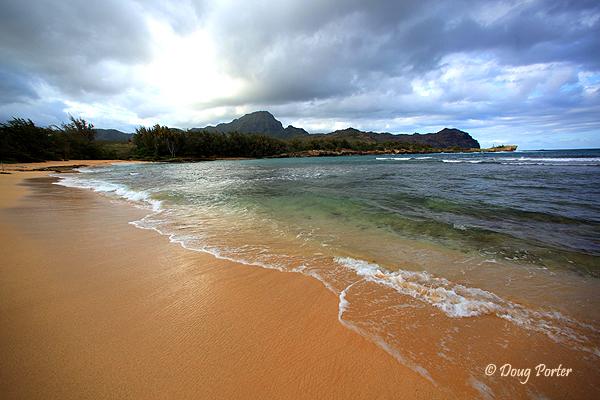 Gillin Beach Kauai Hawaii
