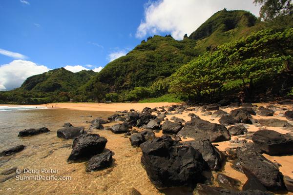 Haena Beach On The North S Of Kauai