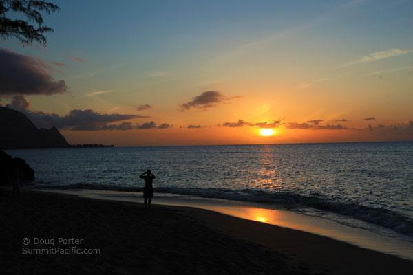 Pali Ke Kua Beach Kauai Hawaii